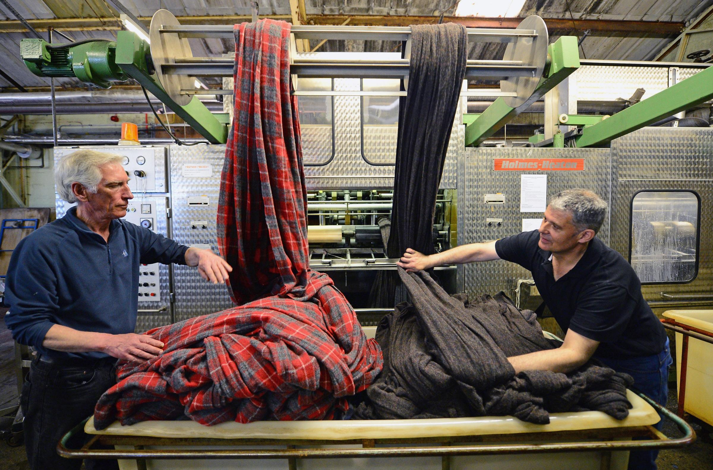 Harris Tweed is among the unique Scottish products which could be threatened by Brexit