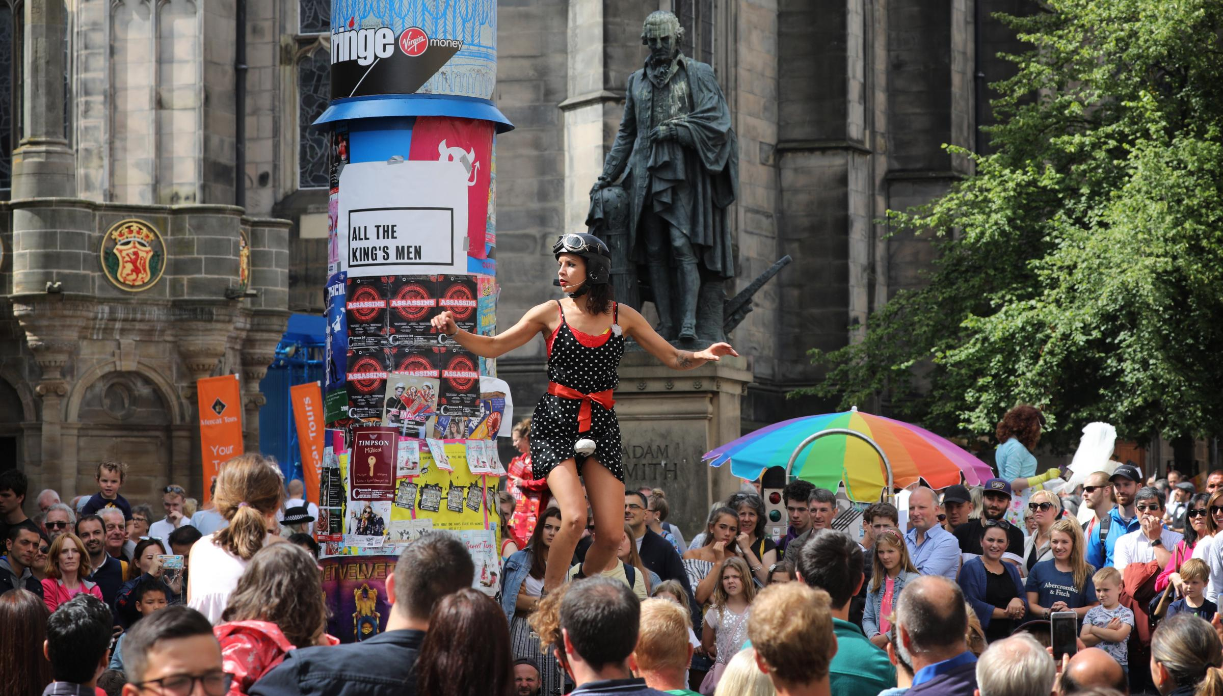 The Edinburgh Festival showcases the value of investing in the artistic community. Photograph: Stewart Attwood
