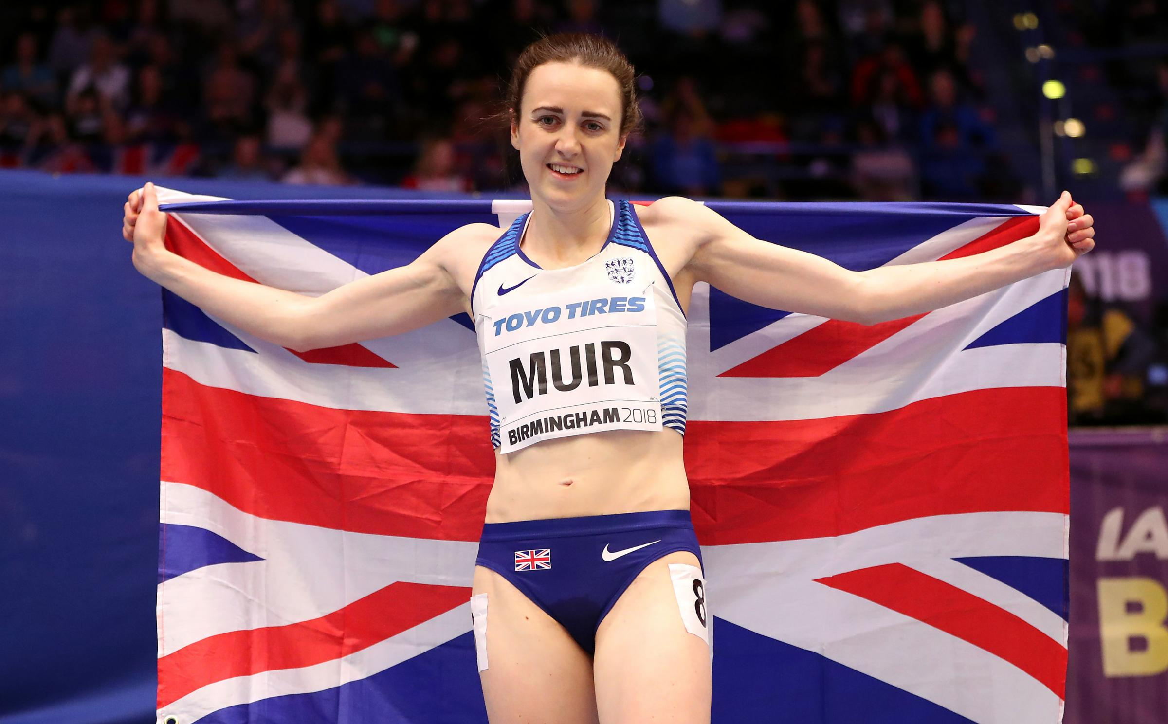 Laura Muir won her first global medals at the World Indoor Championships. Picture: PA