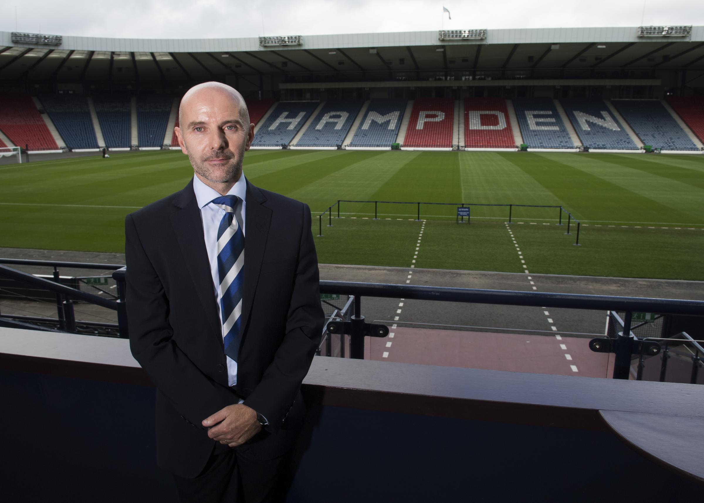06/08/18 . HAMPDEN PARK. The Scottish FA JD Performance Schools seventh intake of pupils..  . Pictured is Brian McLaughlin.