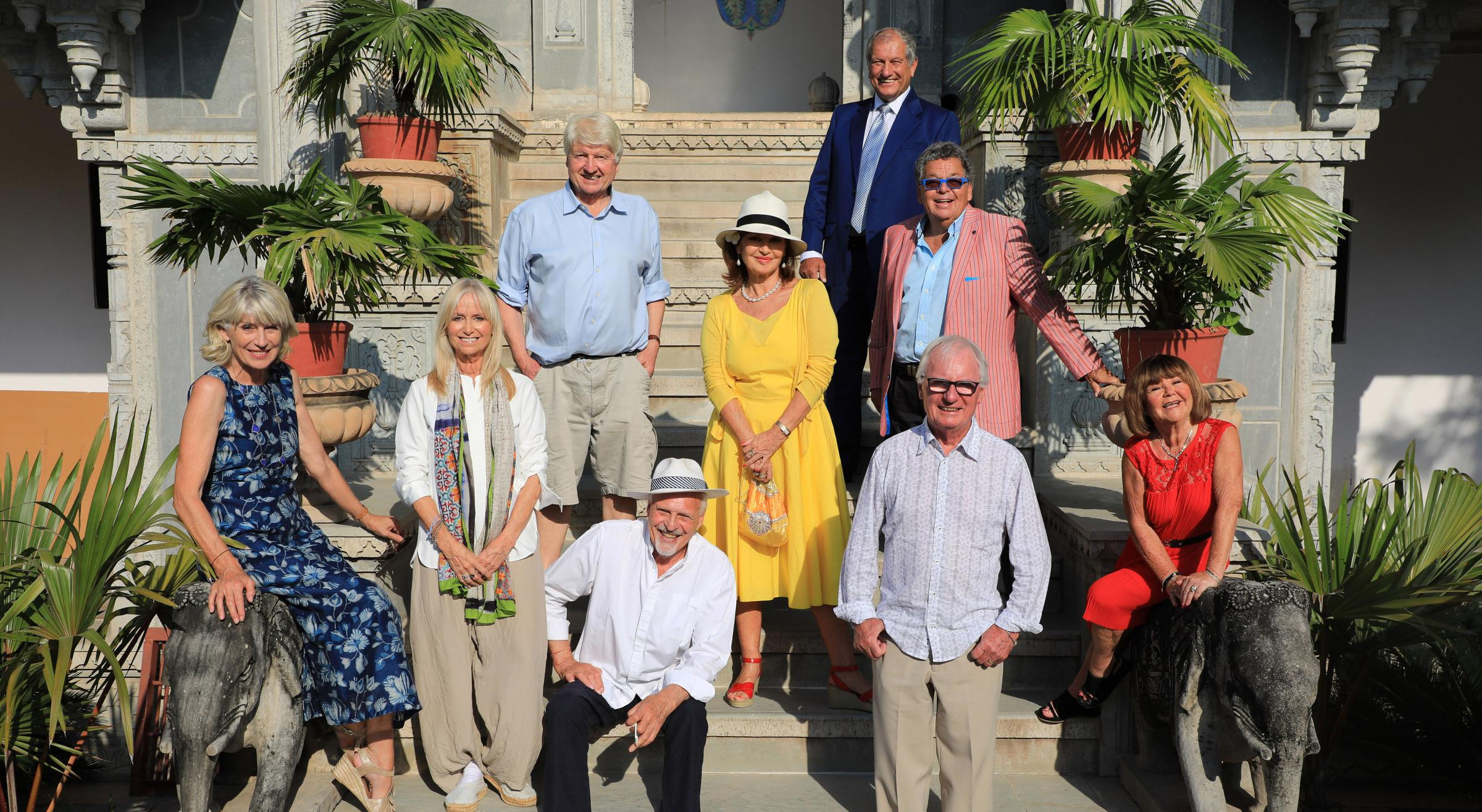 Celebrities embrace life in India in The Real Marigold Hotel