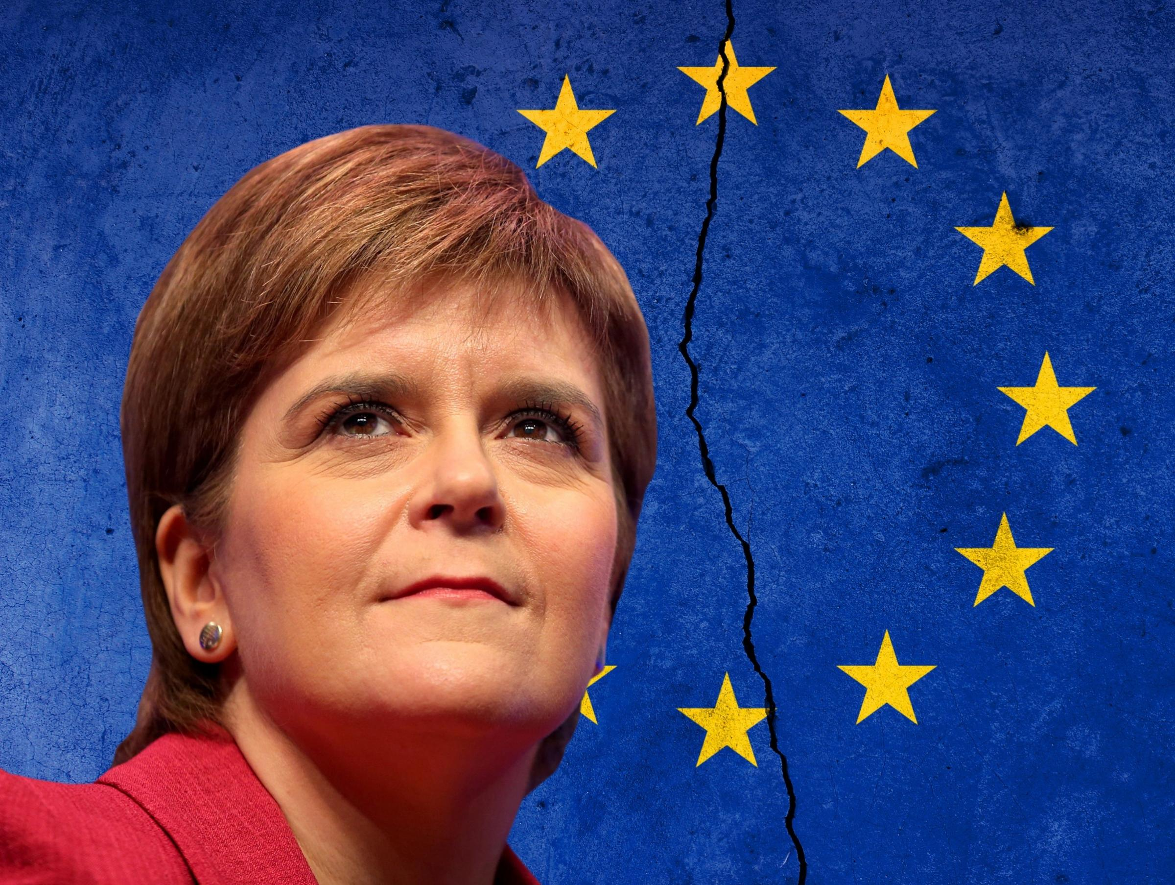 The First Minister has not backed a second EU referendum