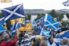 The event was the fifth AUOB march of the year