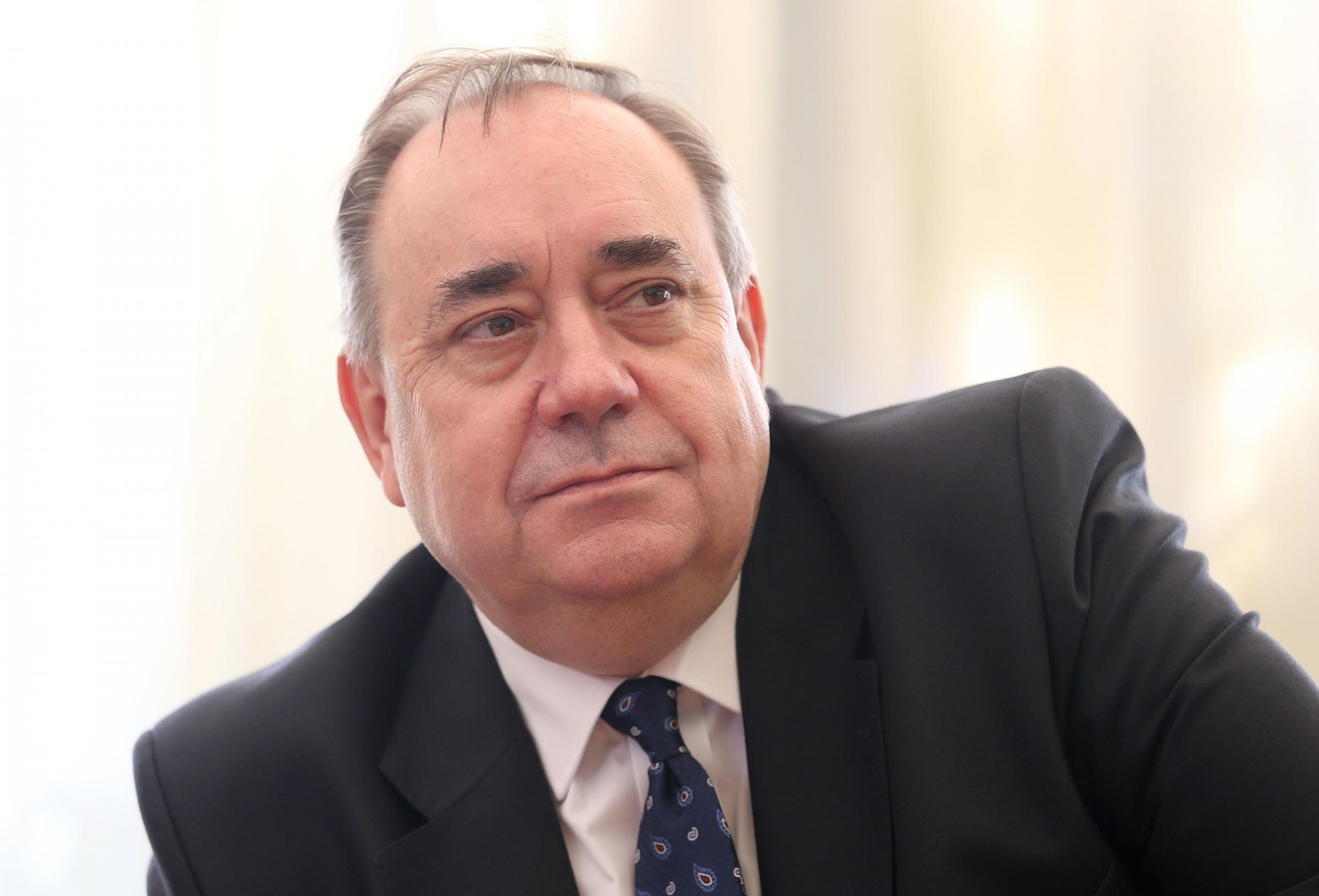 Alex Salmond resigns from SNP