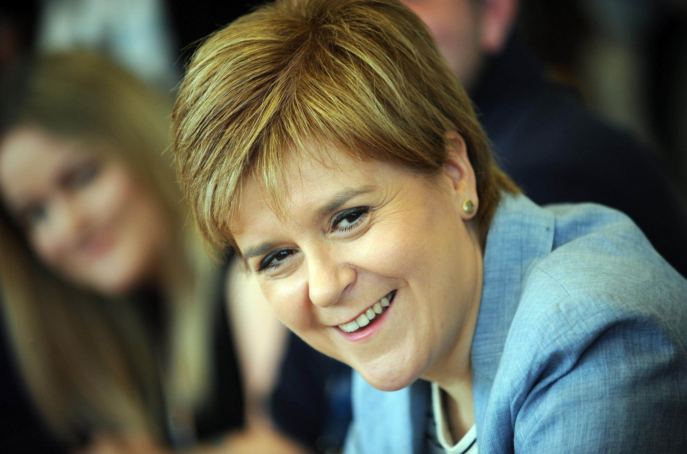 SNP leader on family, marriage and coping with stress of the job