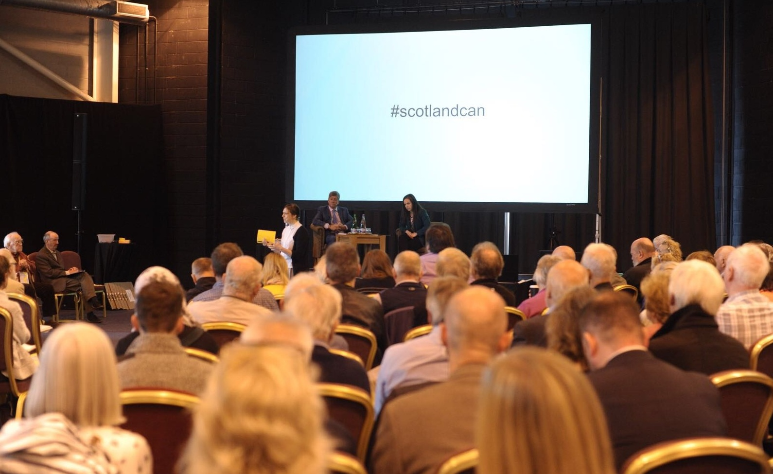 It's good to talk: the SNP's recent National Assembly in Ayr
