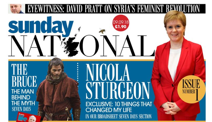 The National and Sunday National are Scotland's only pro-independence papers