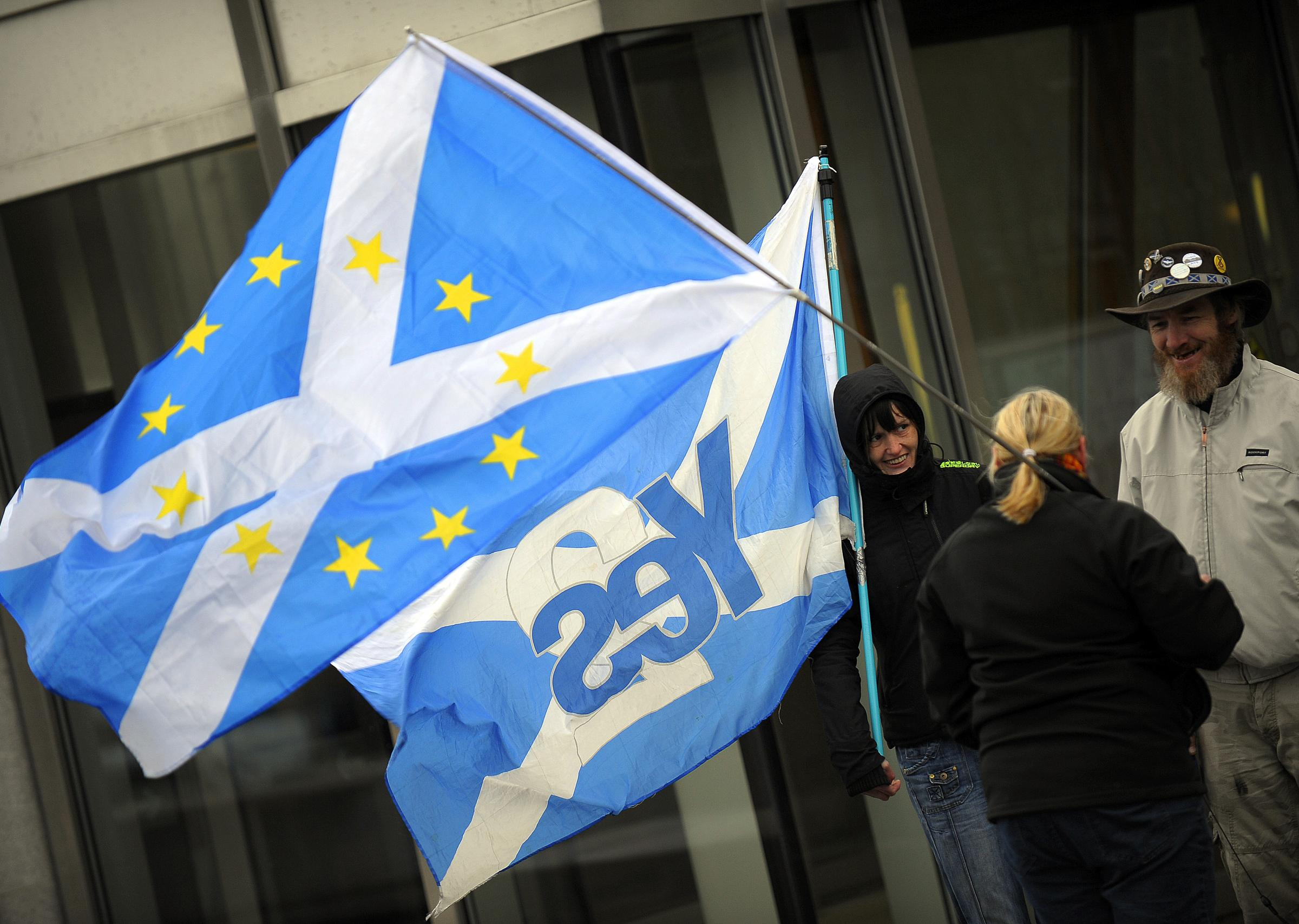 Indyref2 is becoming more and more of a popular idea amid the UK's Brexit chaos