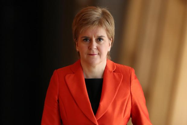 The National: First Minister Nicola Sturgeon
