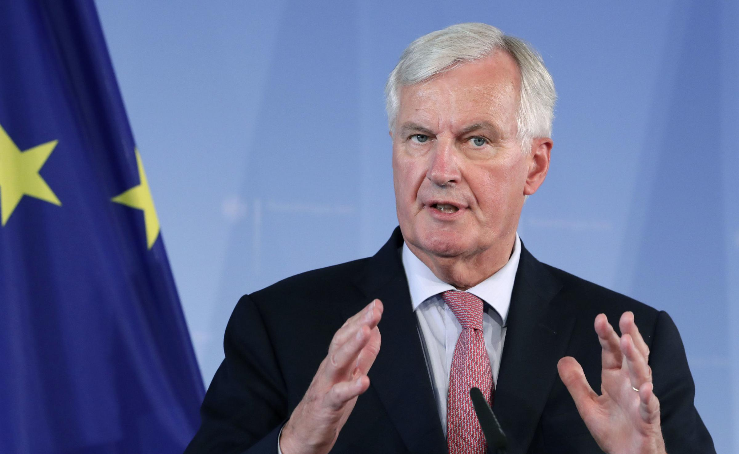 Barnier said the UK could agree a deal with Brussels in two months