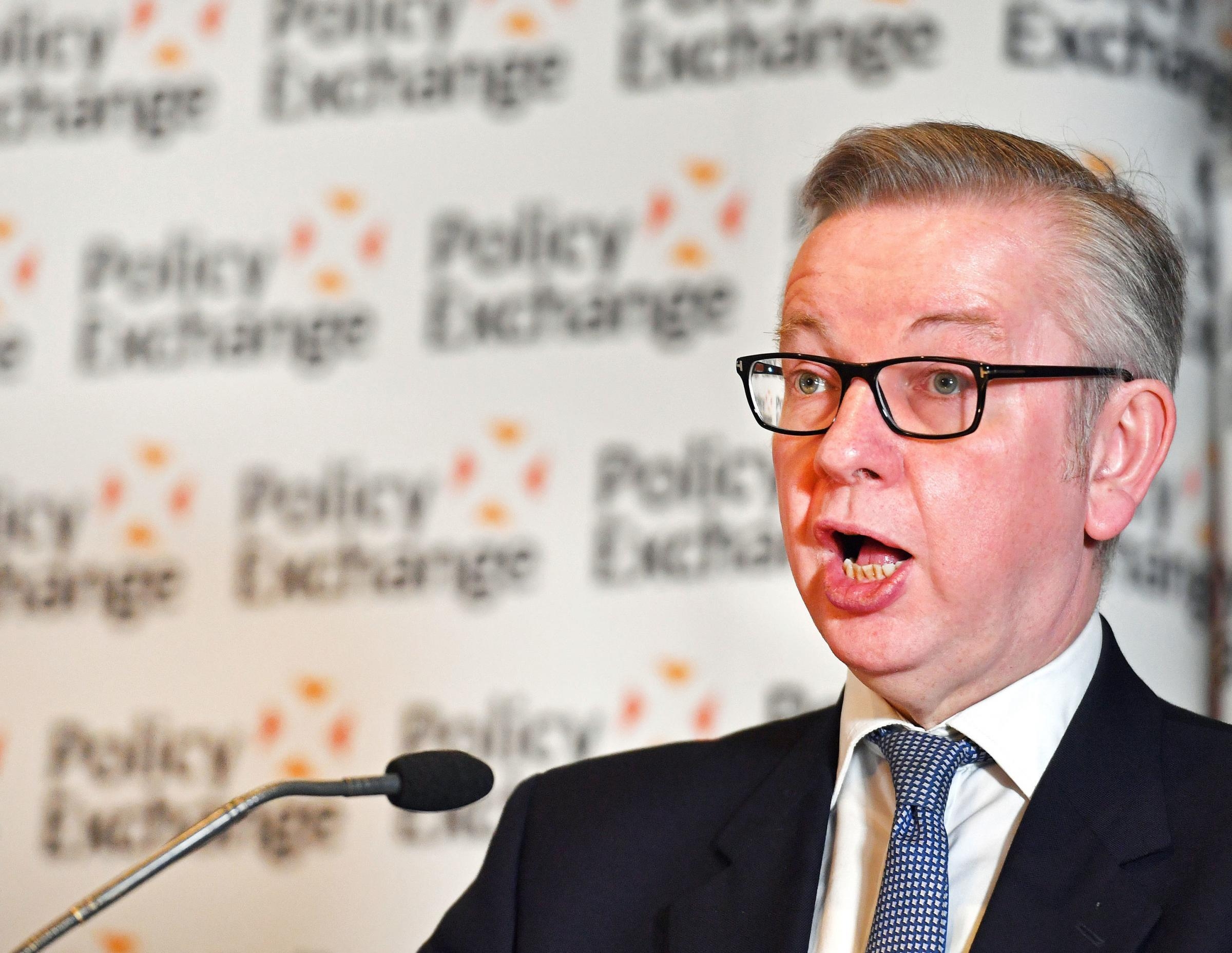 Micheal Gove said the bill will reward farmers who 'protect our environment'
