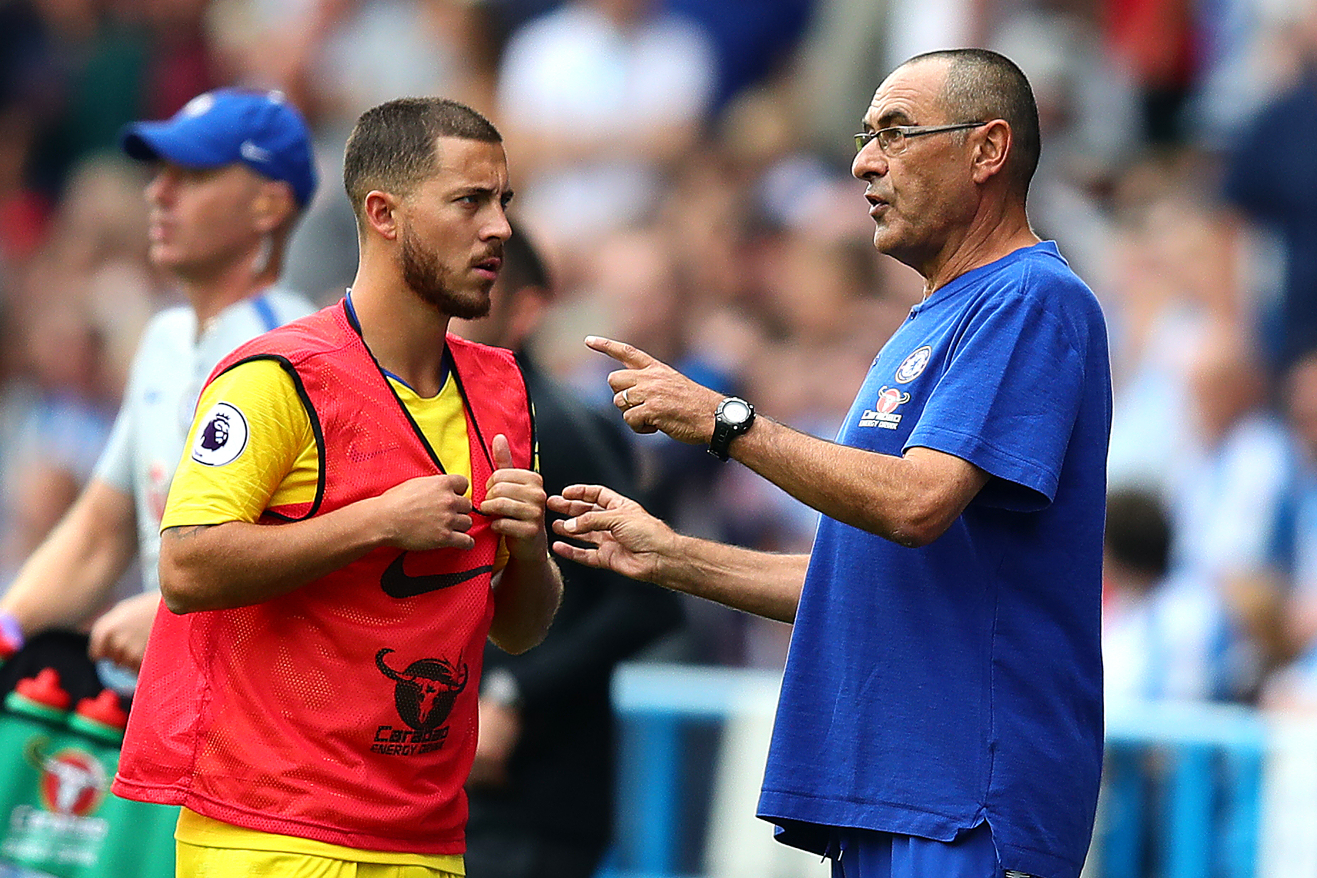 Maurizio Sarri is now getting the best out of Eden Hazard again