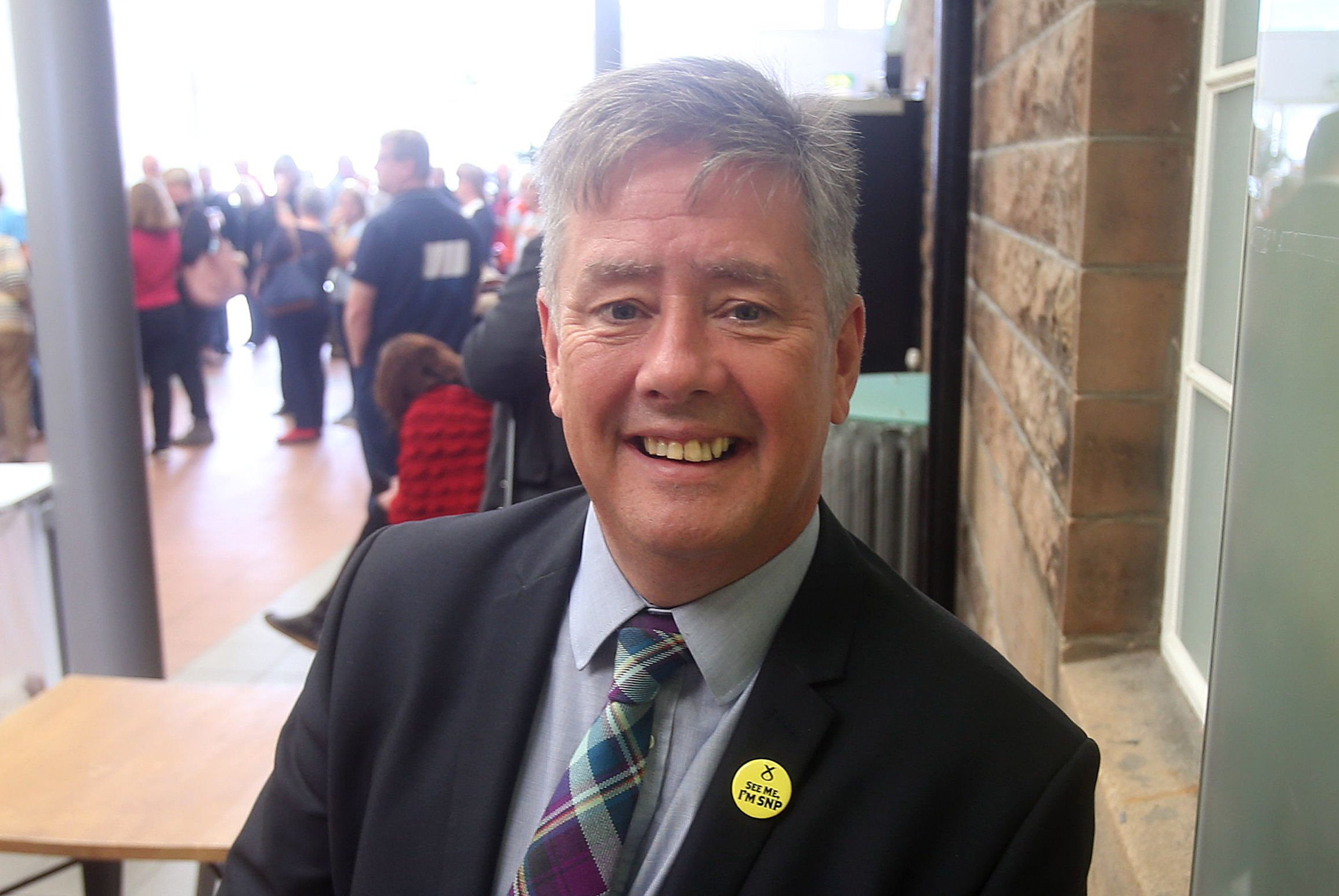 The SNP's Keith Brown is in touch with what's going on at ground level