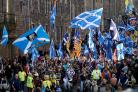 It was a great boost to have 100,000 pro-independence supporters march through Edinburgh