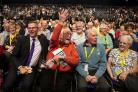 Independence was front and centre during Nicola Sturgeon's address to delegates. Photograph: Getty